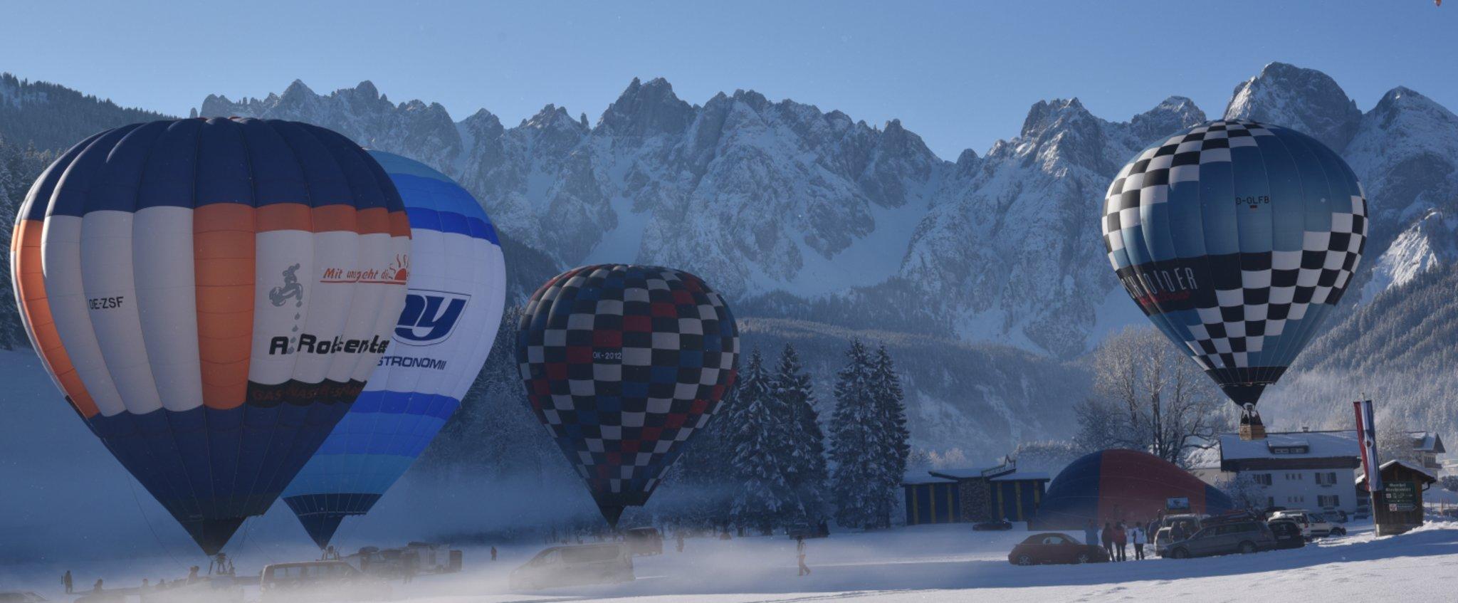 Kaiserwetter für die Ballonfahrer