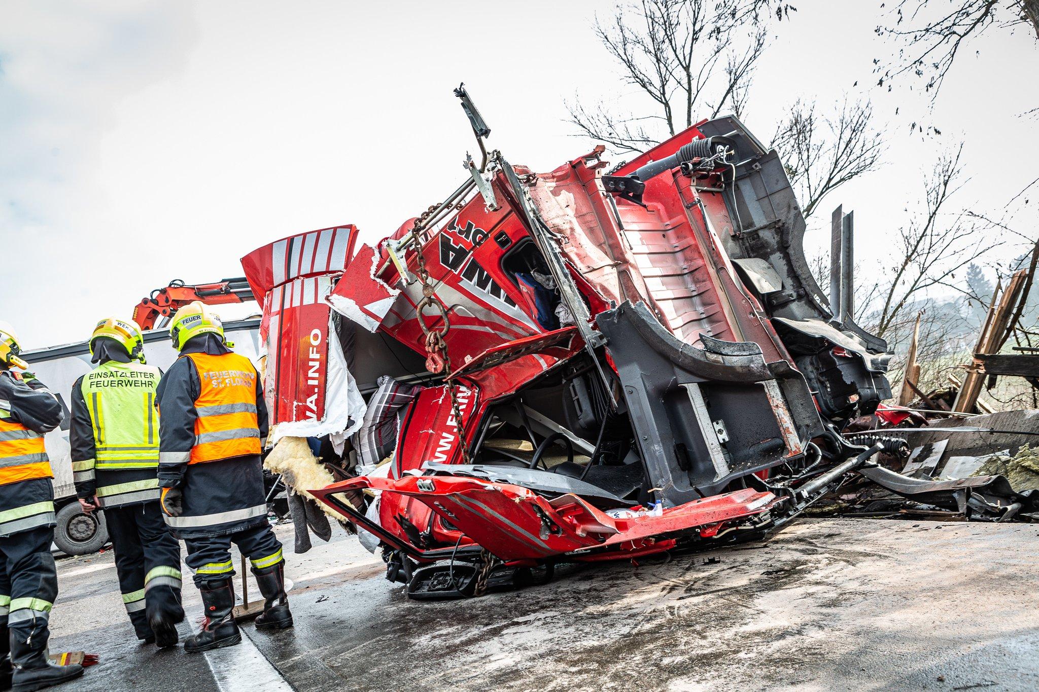 Unfall A1 Jetzt