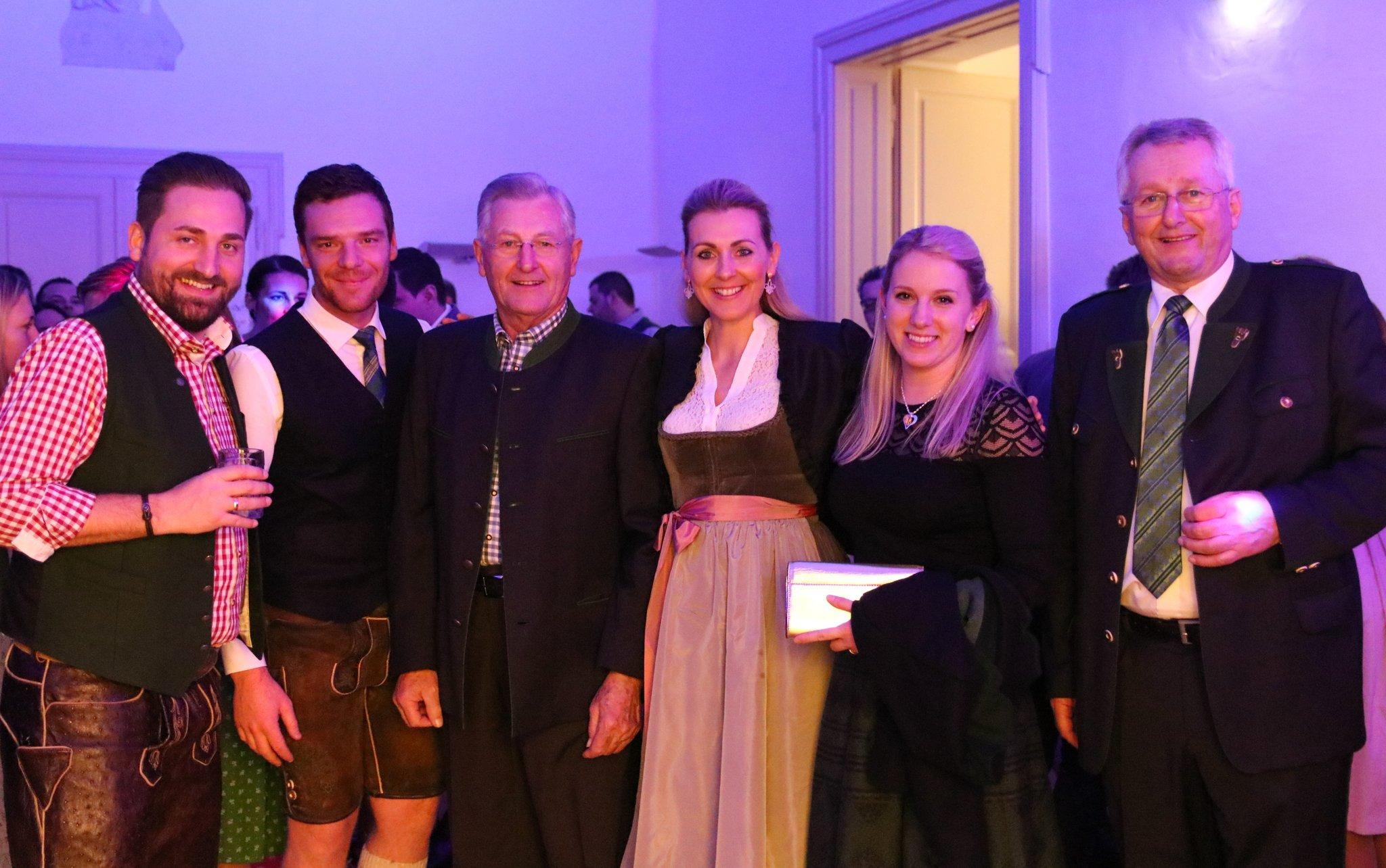 Steirerball Der Wildoner Volkspartei Ministerin Mag Christine Aschbacher Besucht Steirerball In Wildon Leibnitz