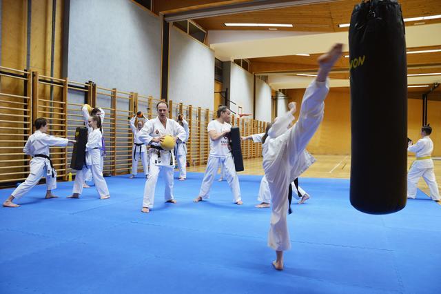 Karate ACTION in Gleisdorf!