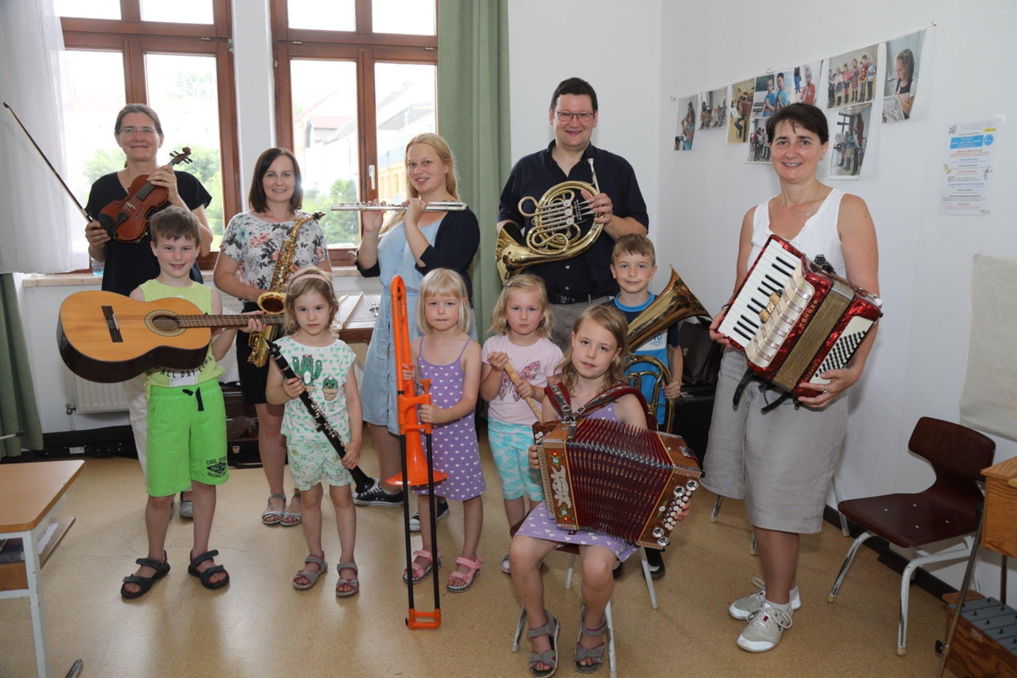 Vorstellung des Gemeindeverbandes der Musikschule Vitis