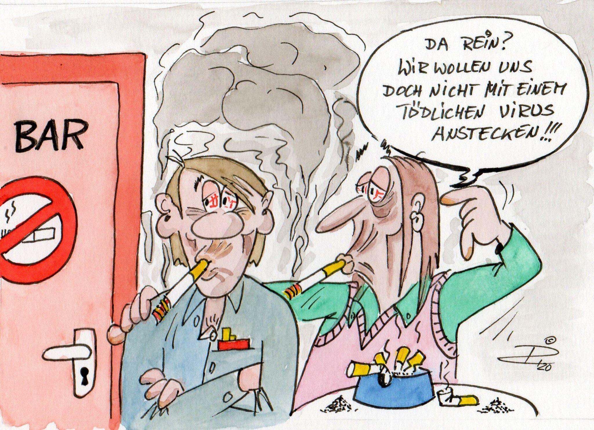 Raucher Und Corona