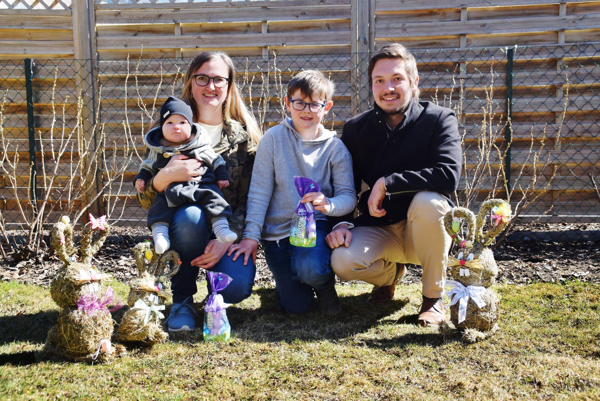 Corona Ostern Familie