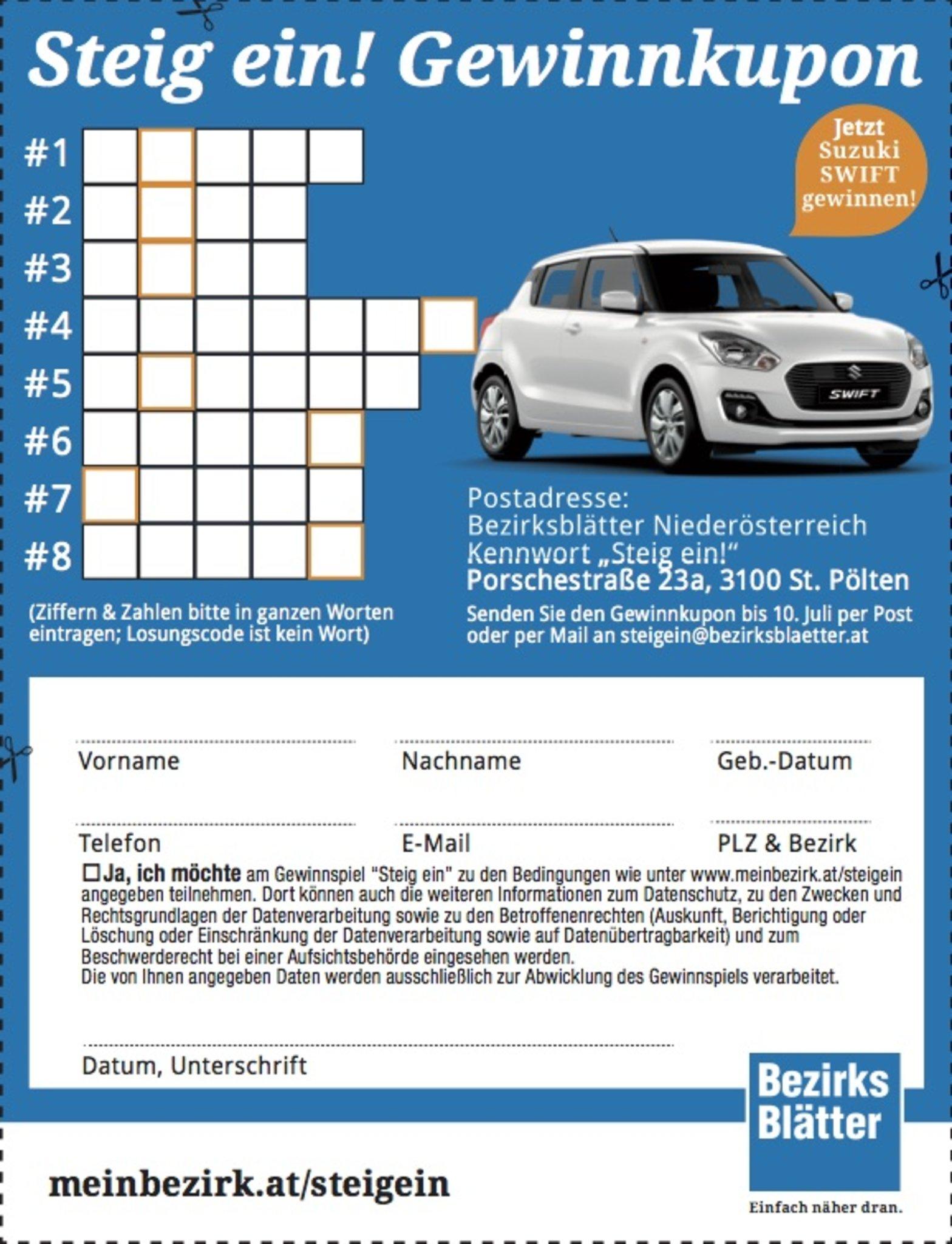 Knack Den Code Mit Unserem E Paper Steig Ein Hier Code Eingeben Und Auto Gewinnen Niederosterreich