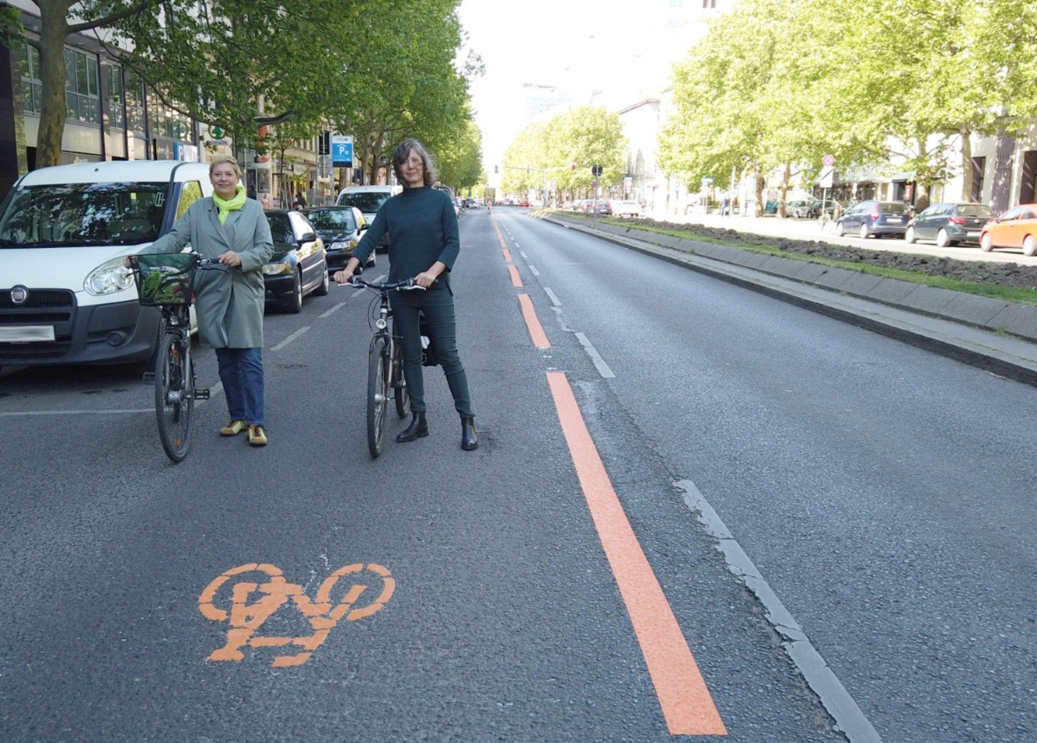 Radfahren in der Leopoldstadt: Wiens erster
