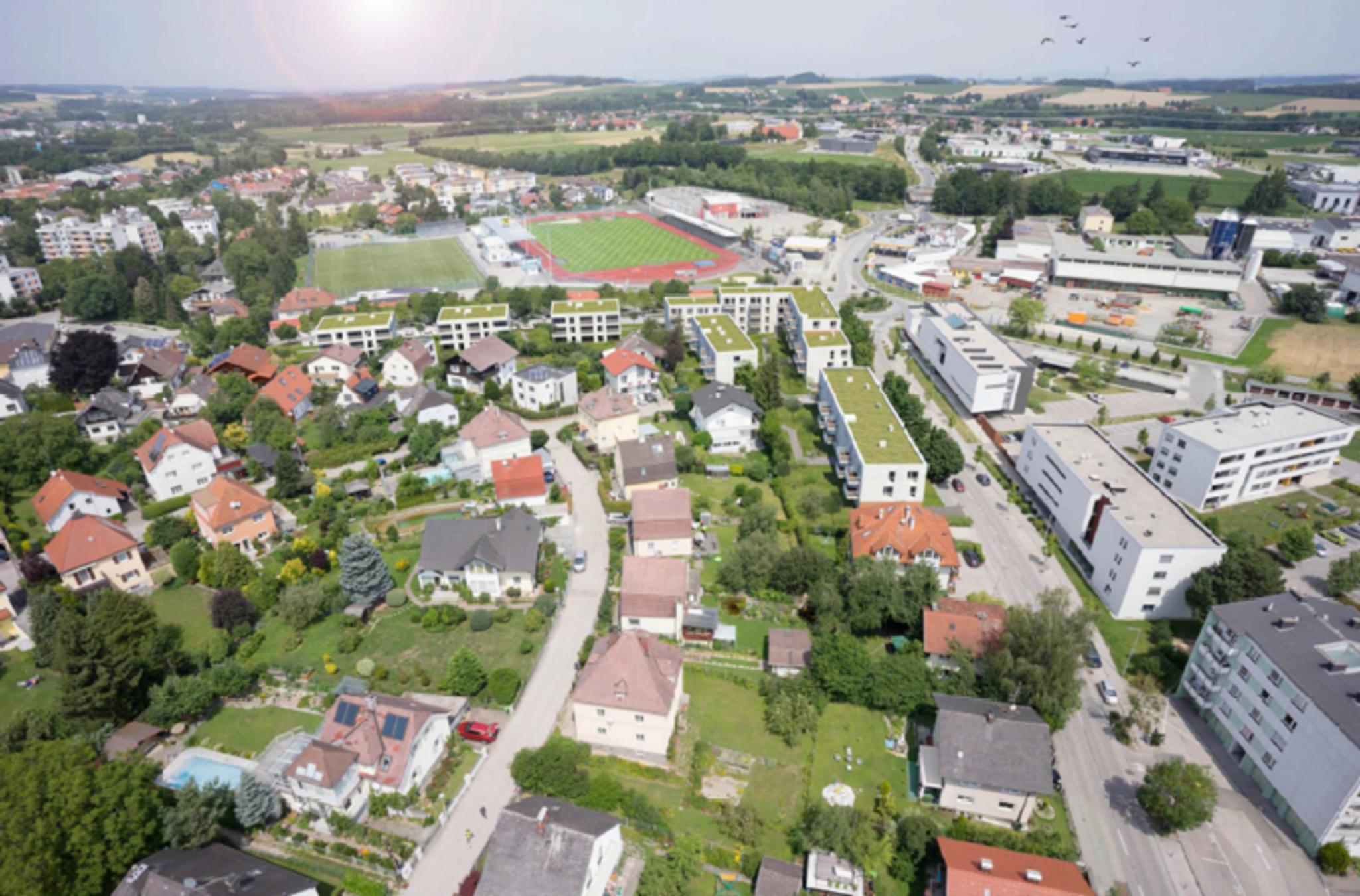 Neue Heimat Wohnanlage Am Voglweg Und An Der Riedauer Strasse Soll Erneuert Werden Ried