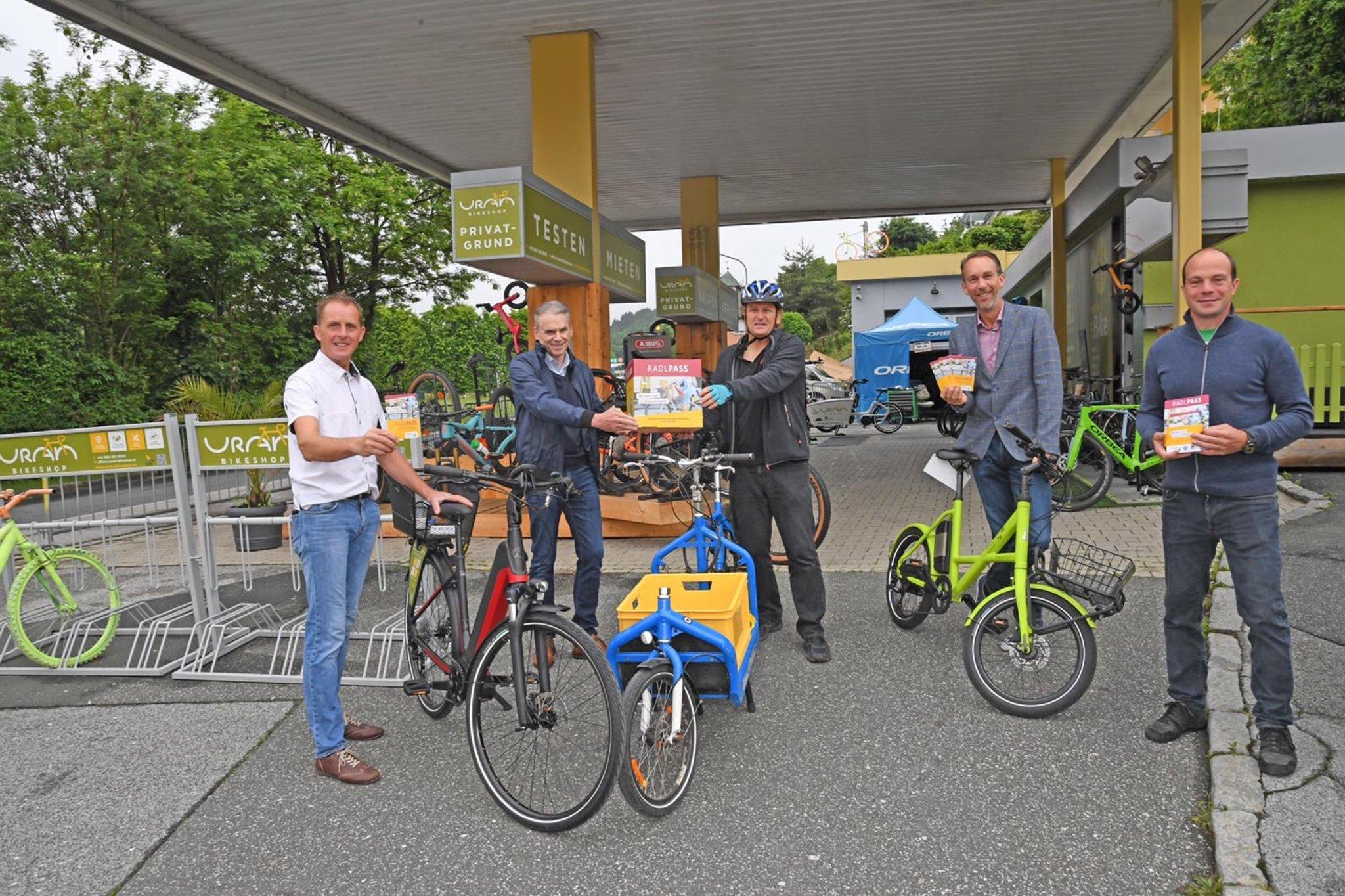"""Aktion """"FahrRad jeden Tag"""": Radfahren und gewinnen Villach"""