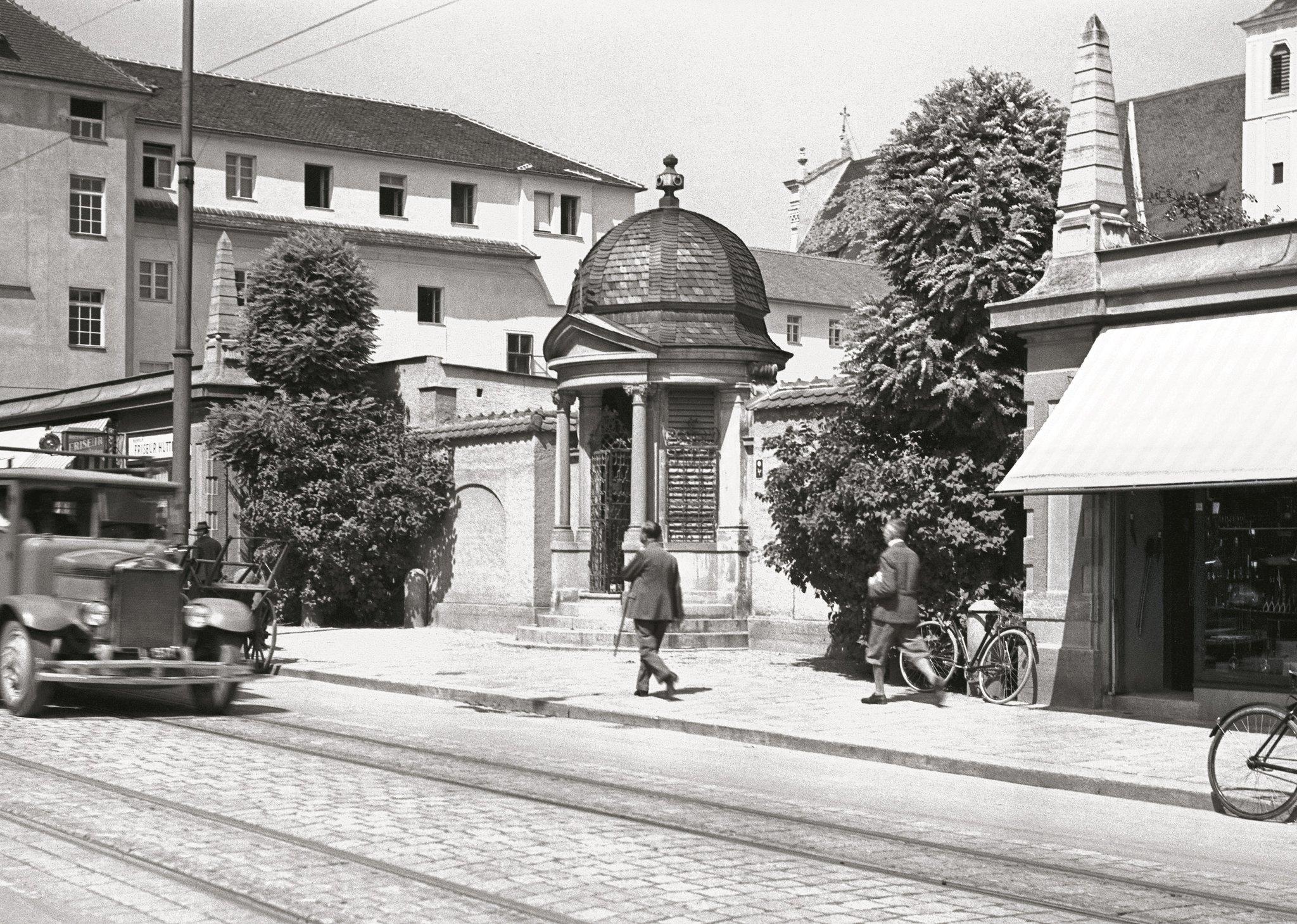 Damals 1932: Kapelle an der Mozartstraße