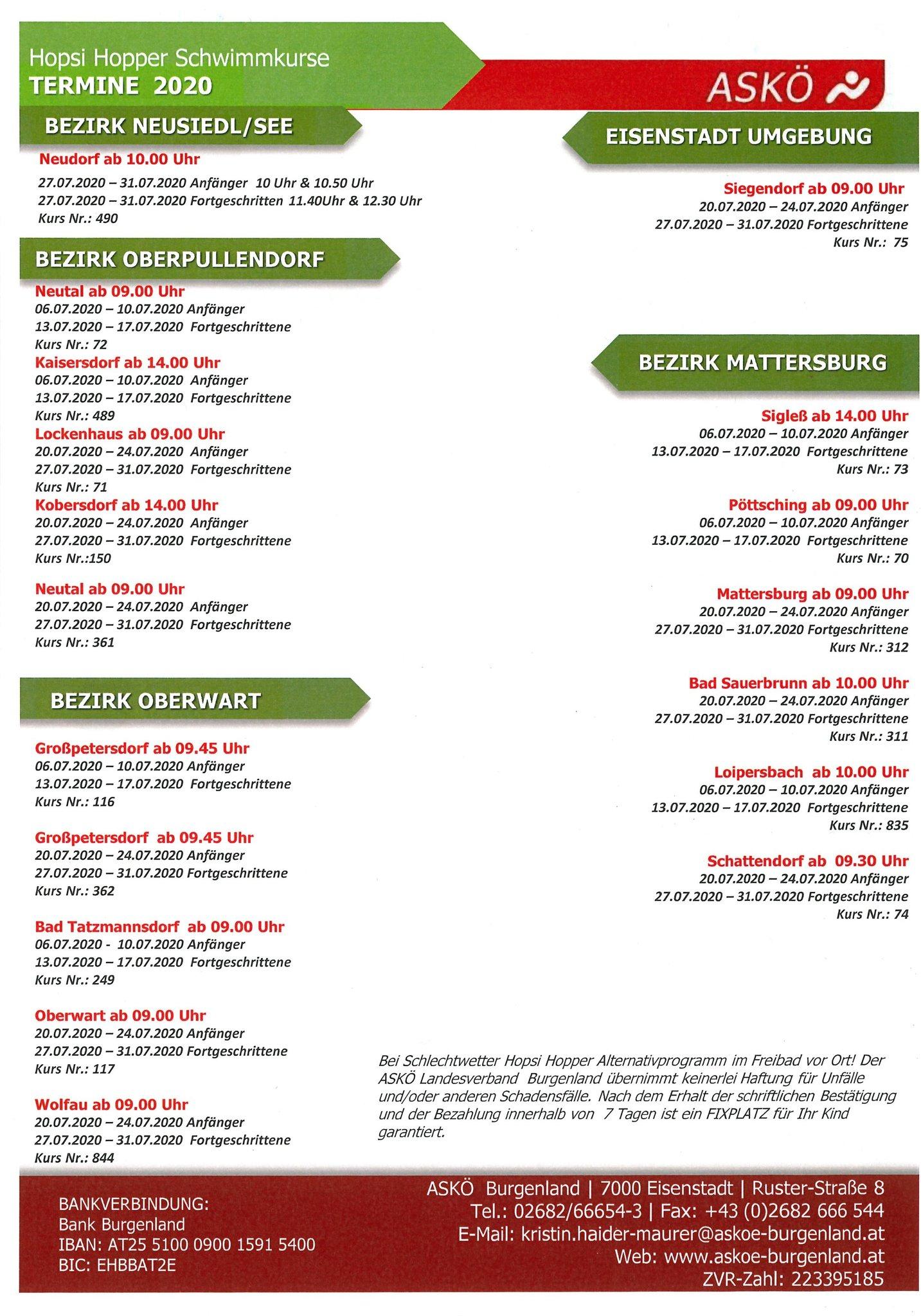 Rotes Kreuz Burgenland: Fotos vom Aufbautag (10.06.2011)