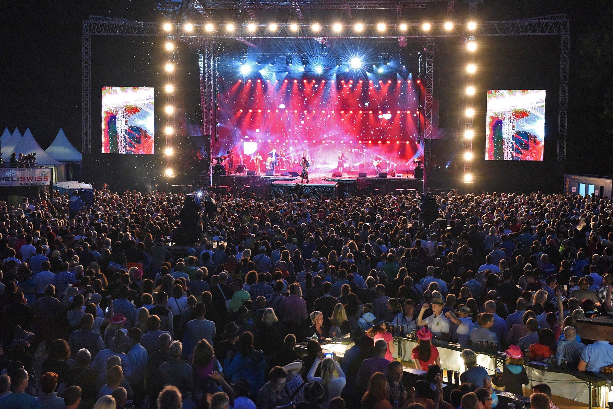 Konzerte In Sassys Heimat Seer Open Air In Gmunden Einziges