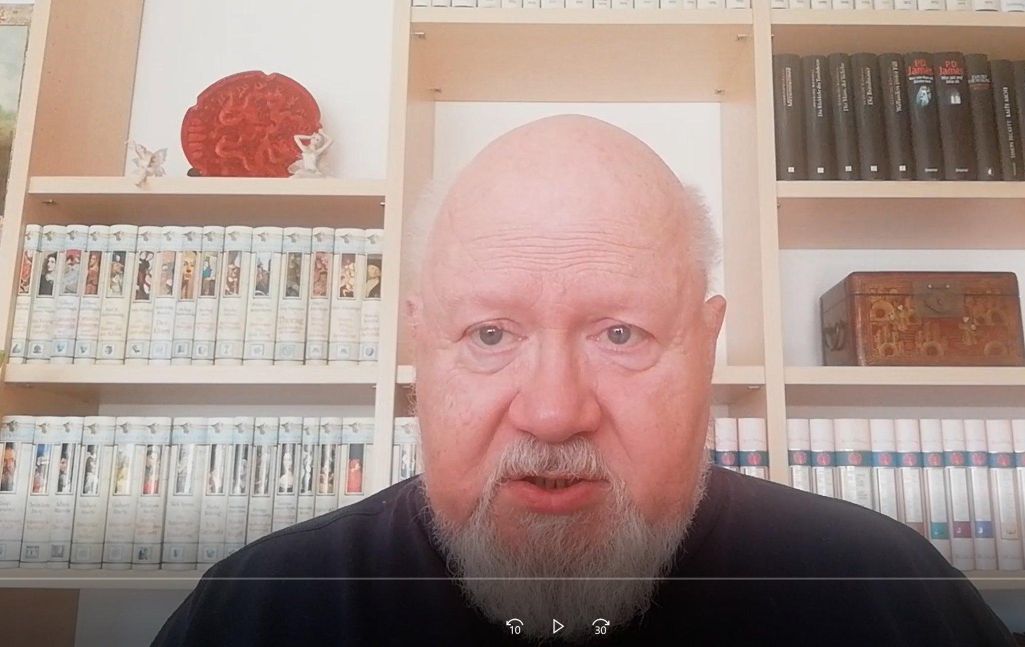 Online-Lesung von Hainburg nach Jekaterinburg