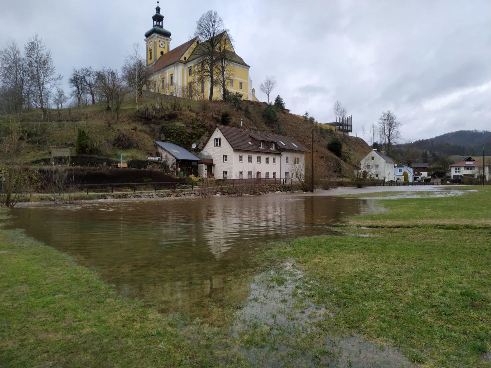 Anrainer-Initiative gegen Umwidmung im Überschwemmungsgebiet