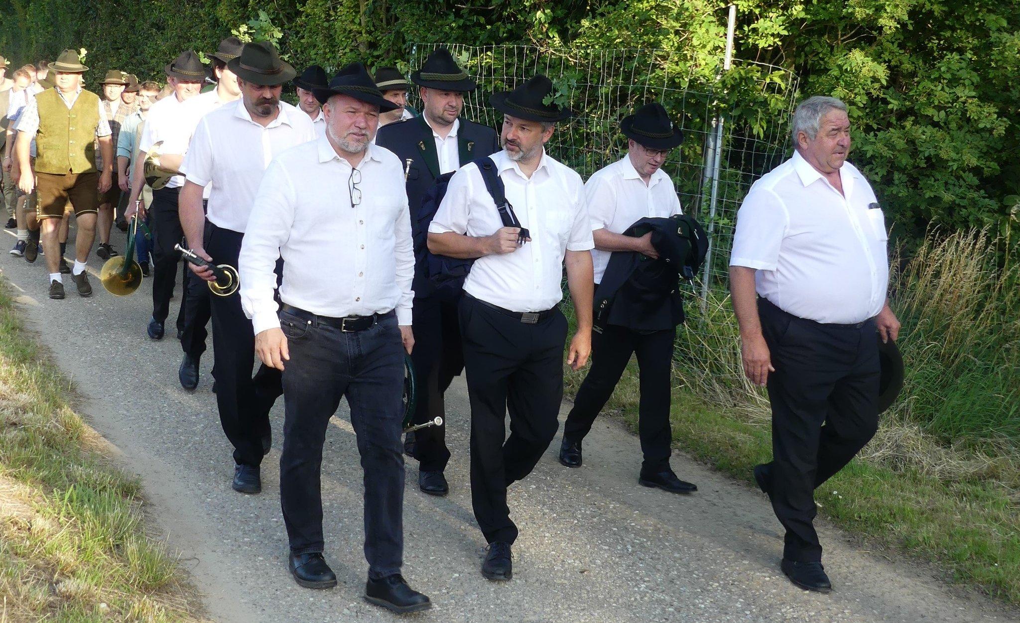 Jagdlicher Event im Jagdbezirk Mistelbach!: Jäger luden zur Hubertusmesse und zur anschließenden Agape!
