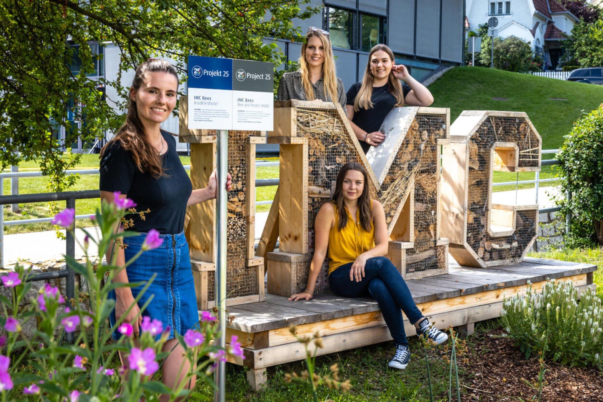 Studierende schätzen die IMC FH Krems