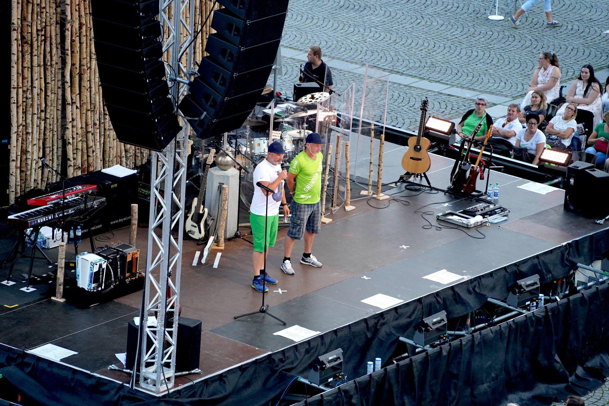 Open Air Konzert Seer Festspiele Am Gmundner Rathausplatz