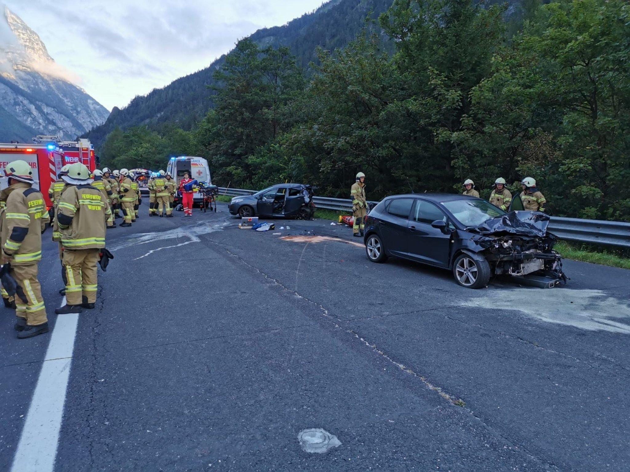 Schwerer Unfall A10