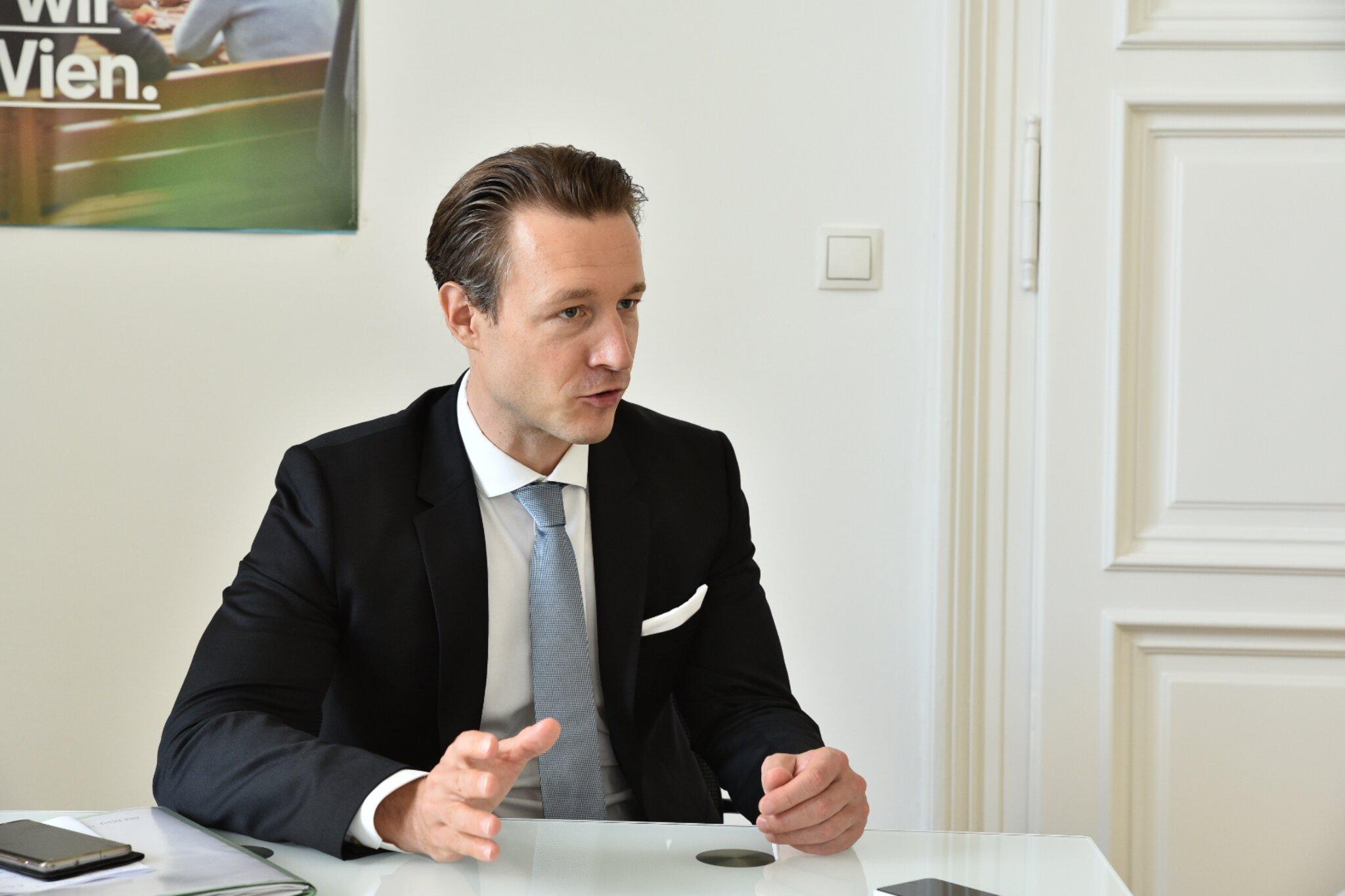 Wien Wahl 2020 U00d6VP Wien Chef Gernot Bl U00fcmel Im Bz Wordrap