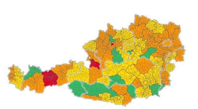 Corona Lage österreich