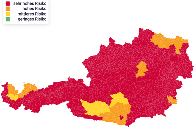 Corona Bundesländer Karte