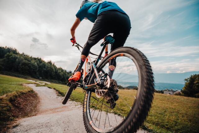 Mountain bike enthusiasts will get their money's worth in the village of SCHÖNLEITN.