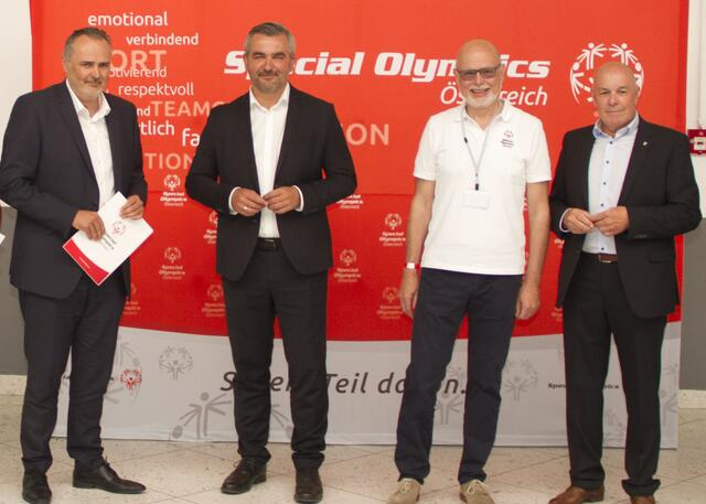 Kick-off für Special Olympics Sommerspiele 2022