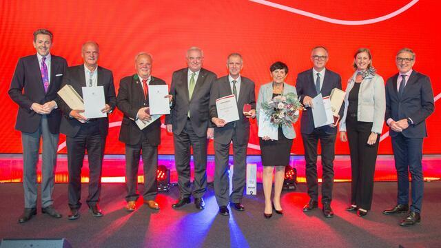 Hohe Auszeichnung für Erwin Fuchs