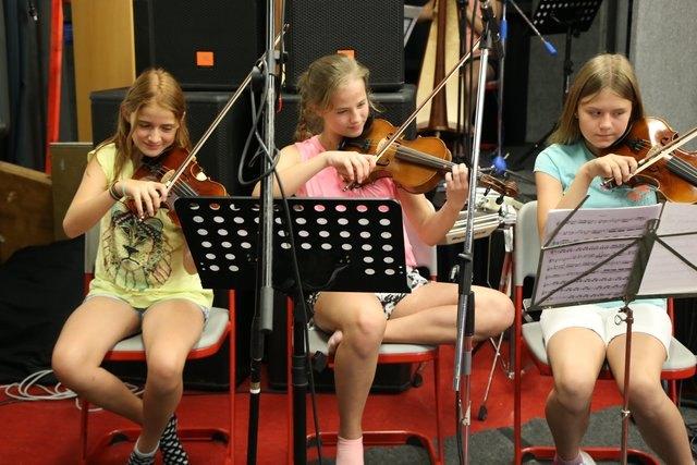 Die Schüler der NMS St. Johann zeigen ihr virtuoses Können.