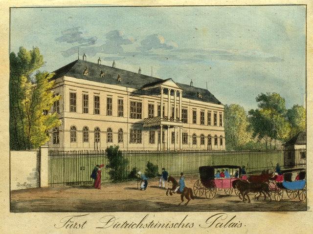 Bezirksmuseum Alsergrund - Palais Clam Gallas Grafik 19.Jh.