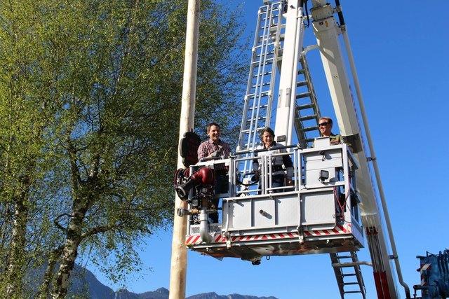 Auch heuer wird am 30. April wieder der Maibaum in Wörgl aufgerichtet.