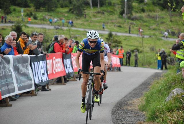 Christian Oberngruber war im Vorjahr am schnellsten am Dreisesselberg.