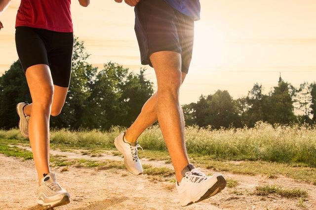 Gemeinsam laufen macht gleich mehr Spaß.