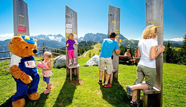Bei der Bärenolympiade könnt Ihr in Brunos Bergwelt Euer Wissen und Können unter Beweis stellen!
