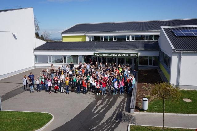 Die generalsanierte Neue Mittelschule Schardenberg wird am Sonntag, 27. Mai 2018, mit einem großen Fest eröffnet.