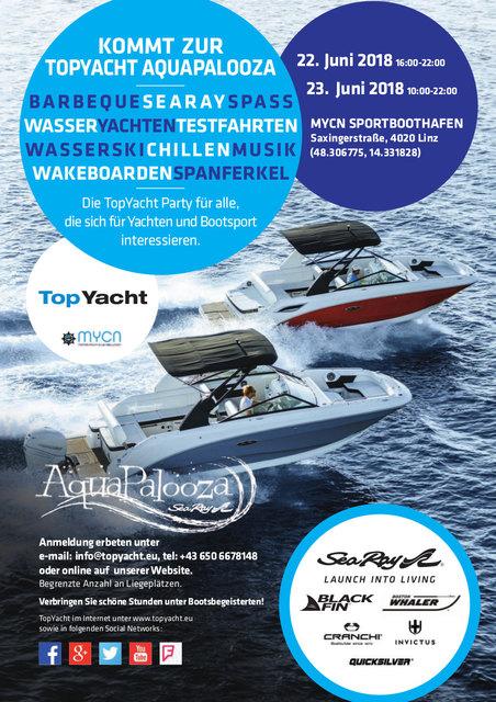 Die TopYacht-Party für alle die sich für Yachten und Bootsport interessieren! Verbringen Sie schöne Stunden unter Bootsbegeisterten.