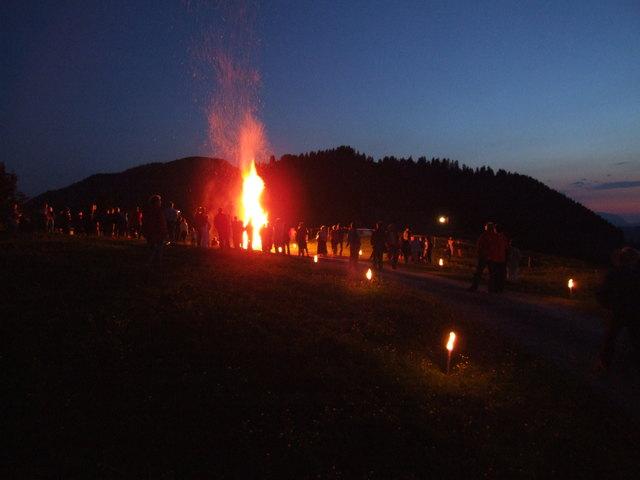 Bild TVB Wildschönau - Sonnwendfeuer am Markbachjoch