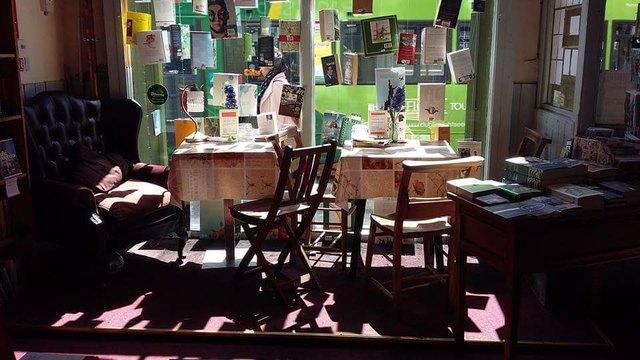 Edith Kammerlander stellt regelmäßig Bücher in der Buchhandlung Ranftl vor.