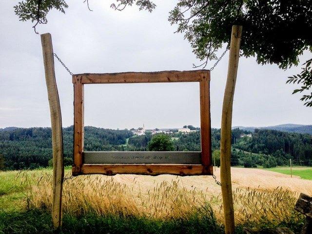 Landschaftsrahmen mit Blick auf Maria Schmolln