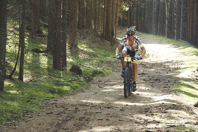 Der Mountainbike-Marathon startet in Theissenegg