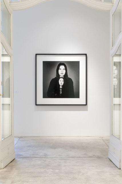 Marina Abramovic Ausstellung in Wien, Galerie Krinzinger Juni 2018.