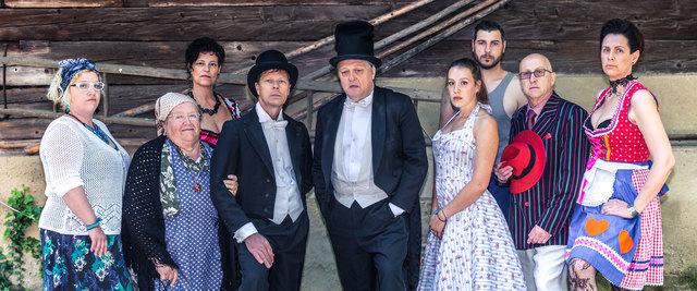 """Die Theaterrunde St. Josef verspricht mit dem Stück """"G'spenstermacher"""" einen kurzweiligen Abend."""