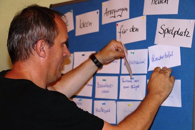 Ernst Muhr (GF FratzGraz) sammelt Vorschläge