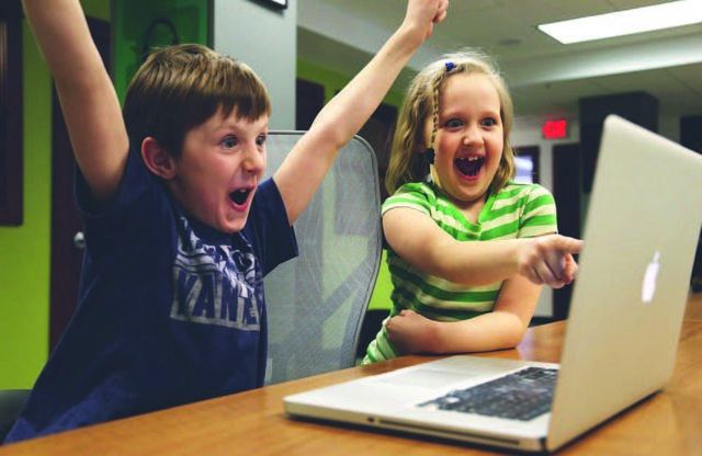 Kinder sollen den richtigen Umgang mit dem Computer lernen