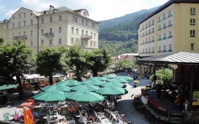 Musikgenuss im Merangarten Bad Gastein mit dem Johann Strauß Orchester Salzburg.