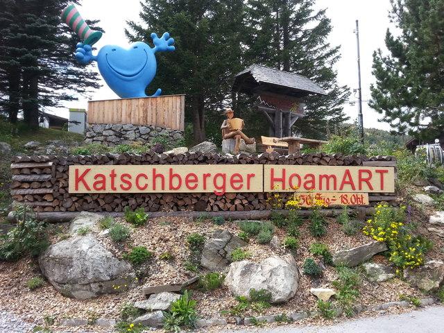 Die Katschberger HoamART ist ein fester Bestandteil im Veranstaltungskalender des Katschbergs