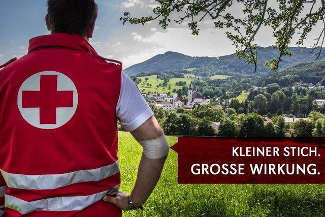 © ÖRK / Bitte kommen Sie JETZT Blutspenden!