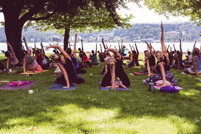 Nicoya&Friends - Yogafest in der Villa Bulfon