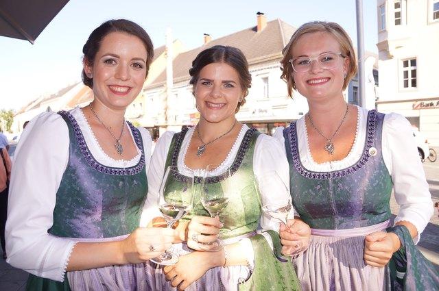 Die steirischen Weinhoheiten werden bei der Weinwoche natürlich mit dabei sein.