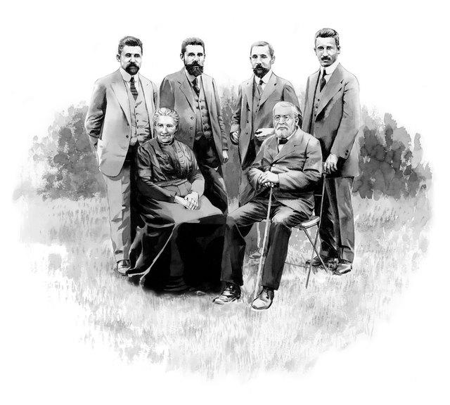 Familie Greiner, 1. und 2. Generation