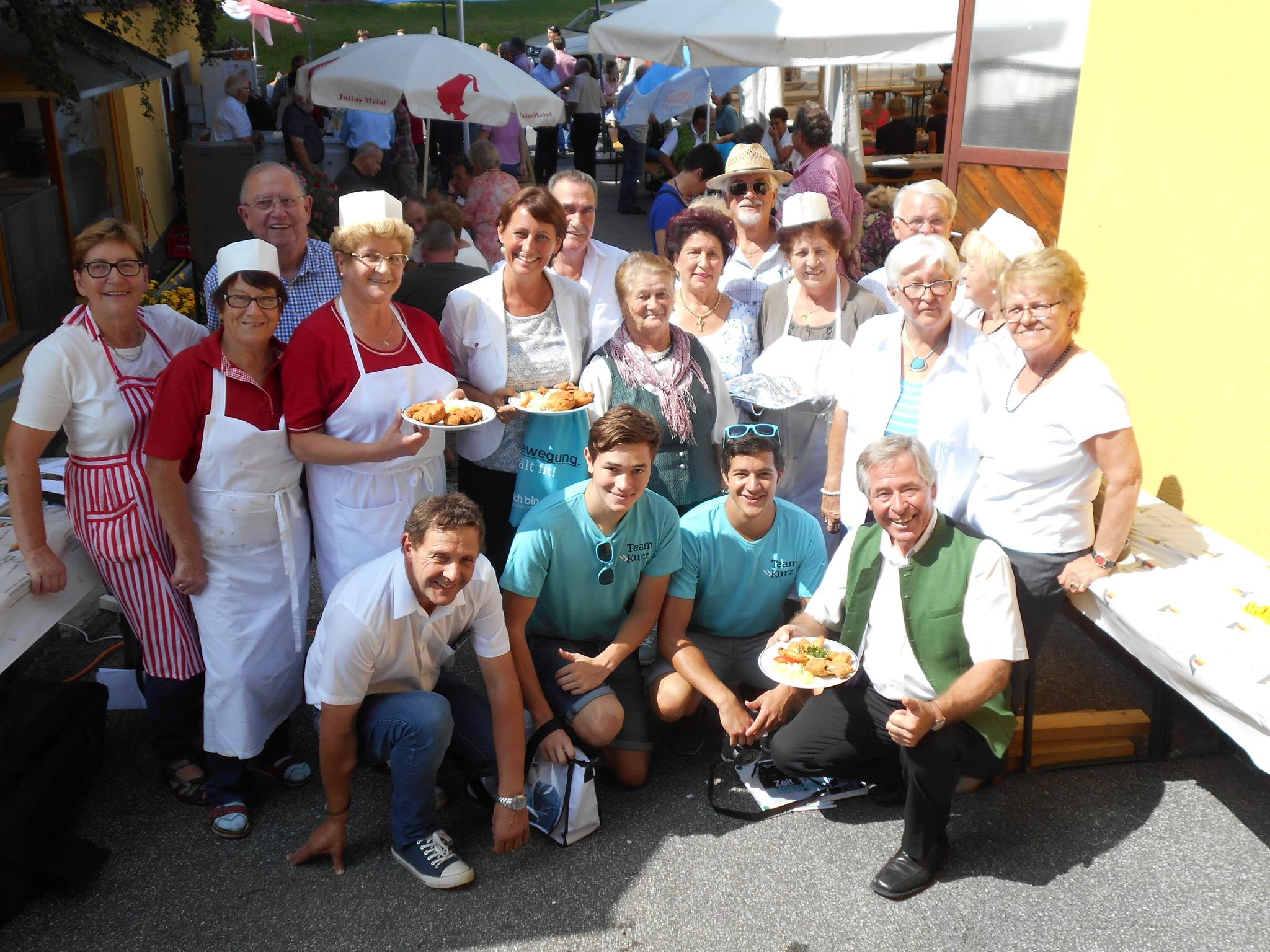 Die Mitglieder des Seniorenbundes Diex freuen sich auf zahlreiche Besucher