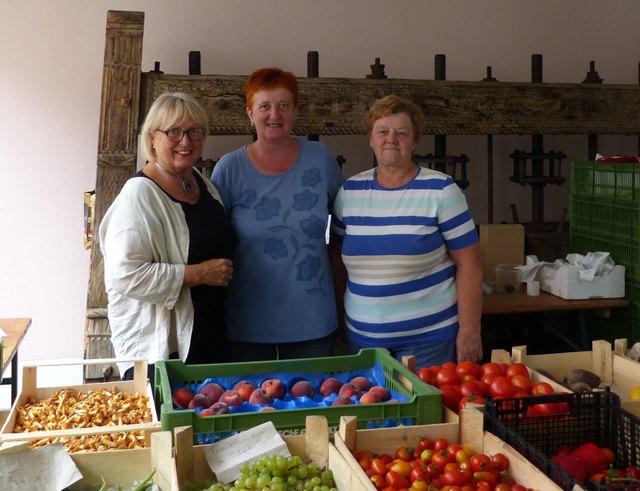 Renate Lindinger, Theresia Stinglmayr, Maria Seiringer